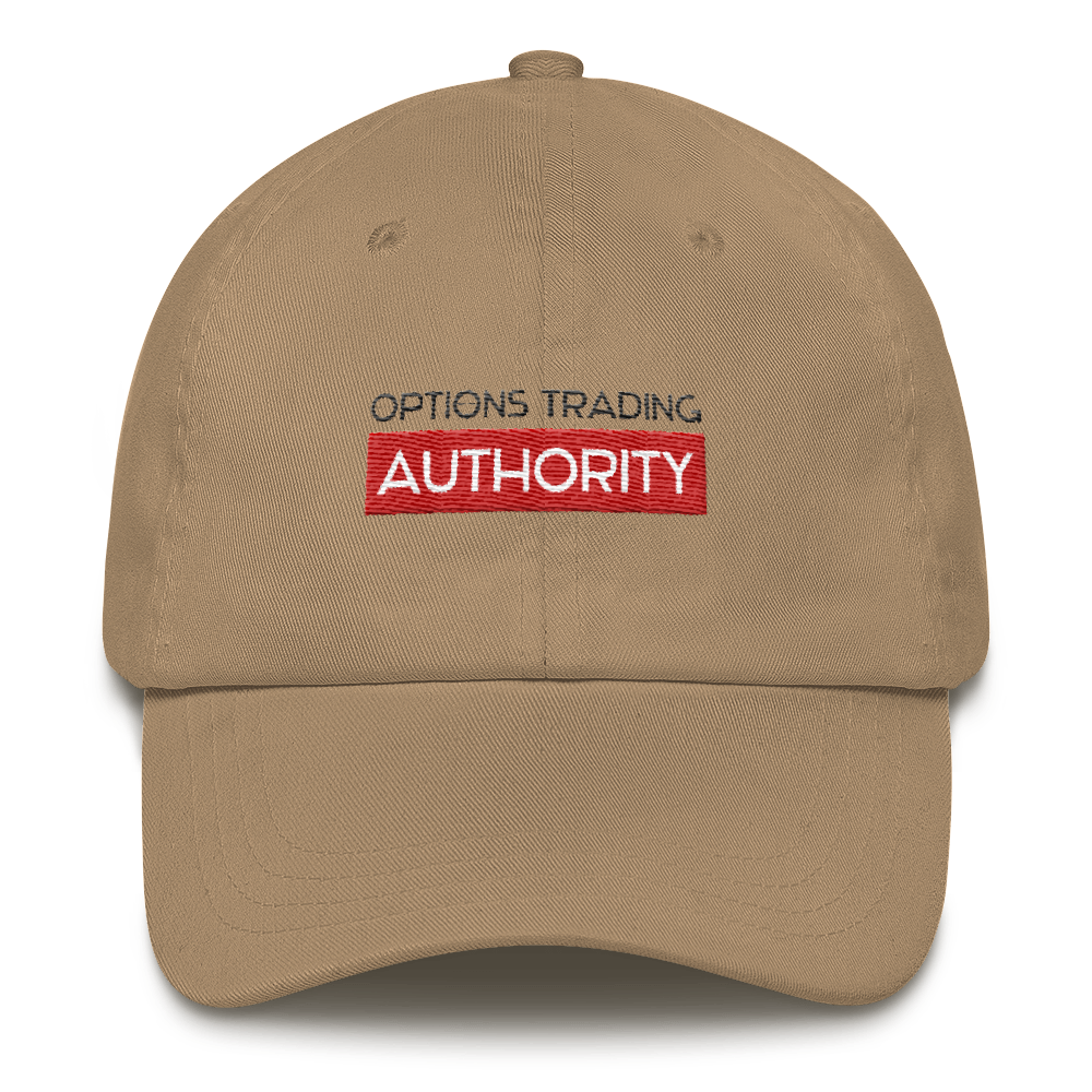 Options Trading AUTHORITY Brand  Hat – Dad Hat Style