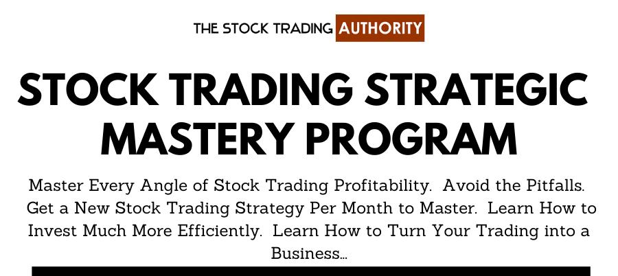 Stock Trading MASTERS Membership