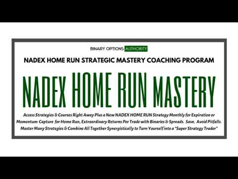 NADEX Home Run Trading Strategic Mastery