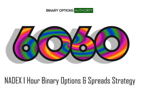 6060 NADEX 1 Hour Binary Options Strategy